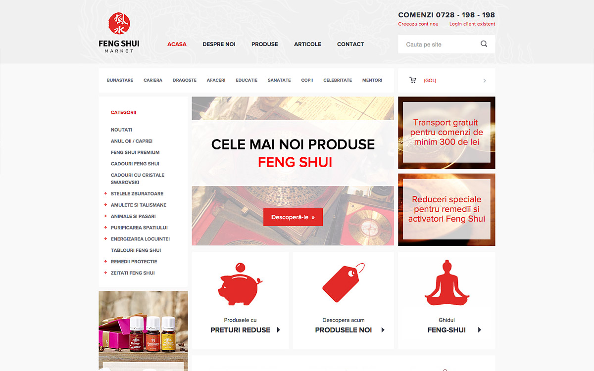 Feng Shui Market online shop preview